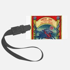 Griffin Chinese Fireworks label Luggage Tag