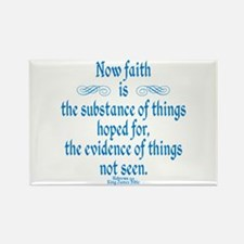 Hebrews 11 1 Scripture Rectangle Magnet