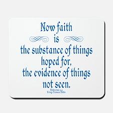 Hebrews 11 1 Scripture Mousepad