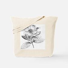 Dogwood flower vintage artwork Tote Bag