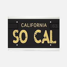 Old socal license plate design Rectangle Magnet (1
