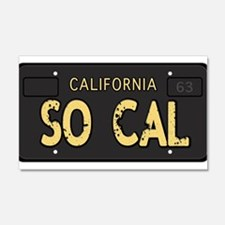 Old socal license plate design Wall Decal