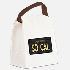 Old socal license plate design Canvas Lunch Bag