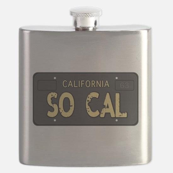 Old socal license plate design Flask