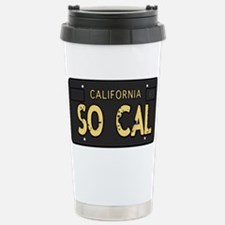 Old socal license plate design Travel Mug