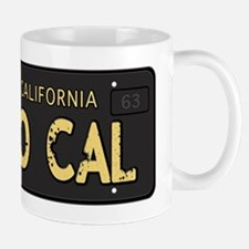 Old socal license plate design Mug