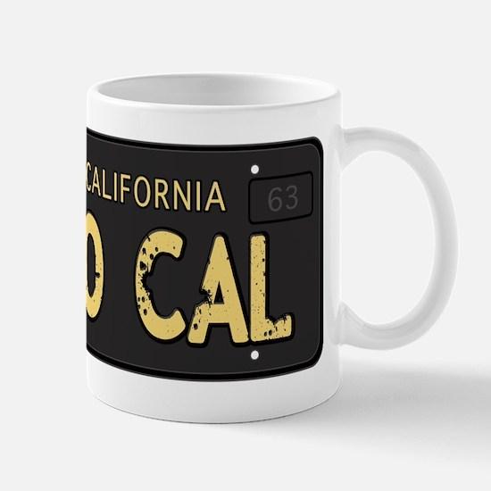 Old socal license plate design Mug