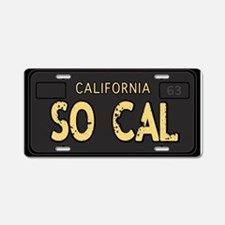 Socal old license Aluminum License Plate