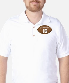 Football Player Number 16 T-Shirt