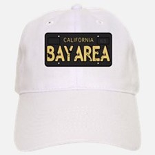 Bay Area calfornia old license Baseball Baseball Baseball Cap