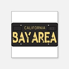 Bay Area calfornia old license Sticker