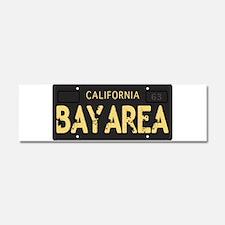 Bay Area calfornia old license Car Magnet 10 x 3