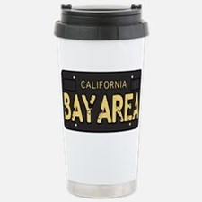 Bay Area calfornia old license Travel Mug