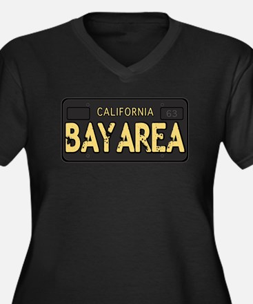 Bay Area calfornia old license Plus Size T-Shirt