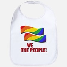 We the people, marriage equality Bib