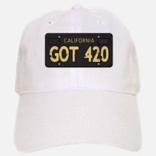 Old cal license 420 Baseball Baseball Baseball Cap