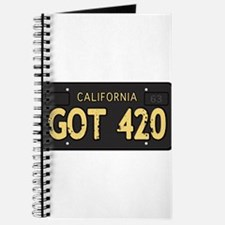 Old cal license 420 Journal