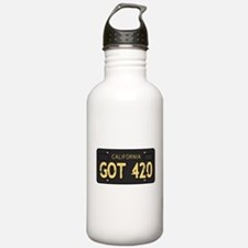 Old cal license 420 Water Bottle