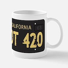 Old cal license 420 Mug