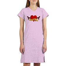 Rottweiler Mom Women's Nightshirt