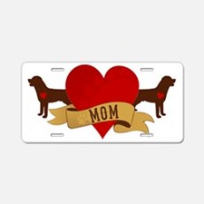 Rottweiler Mom Aluminum License Plate