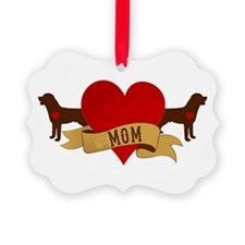 Rottweiler Mom Ornament