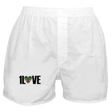 1LOVE DOMINICA Boxer Shorts