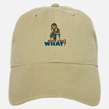 Girl Scientist Baseball Baseball Cap