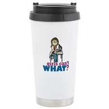 Girl Scientist Travel Mug