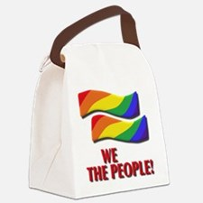 We the people, marriage equality Canvas Lunch Bag
