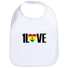 1LOVE GHANA Bib