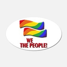 We the people, marriage equality Wall Decal