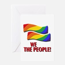 We the people, marriage equality Greeting Card