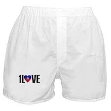 1LOVE HAITI Boxer Shorts