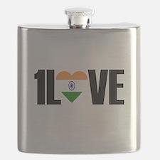 1LOVE INDIA Flask