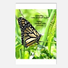 Thinking Butterfly Postcards (Package of 8)