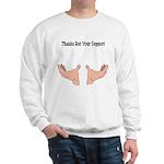 Support Hands Sweatshirt