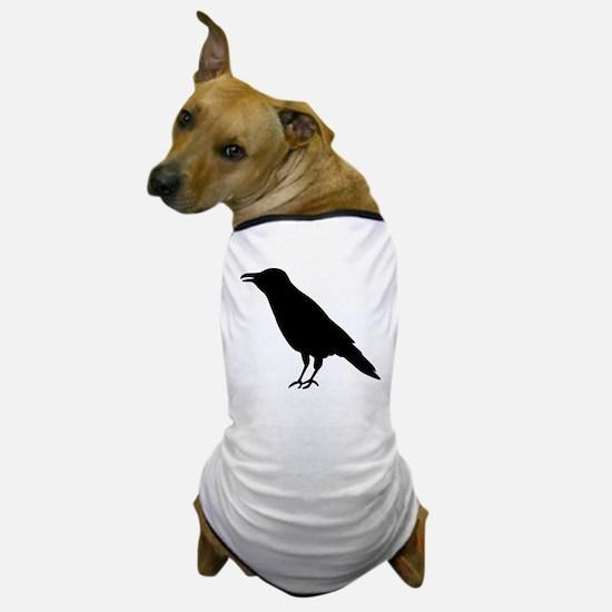 Crow Raven Dog T-Shirt