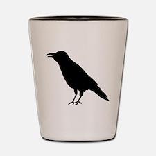 Crow Raven Shot Glass