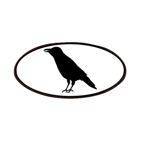 Crow Raven Patches