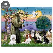 StFrancis-10 dogs Puzzle