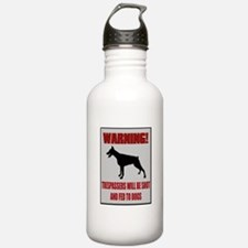 Trespassers Fed To Dogs Water Bottle