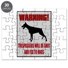 Trespassers Fed To Dogs Puzzle