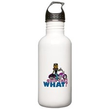 Biker Woman Water Bottle