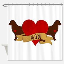 Golden Mom Shower Curtain