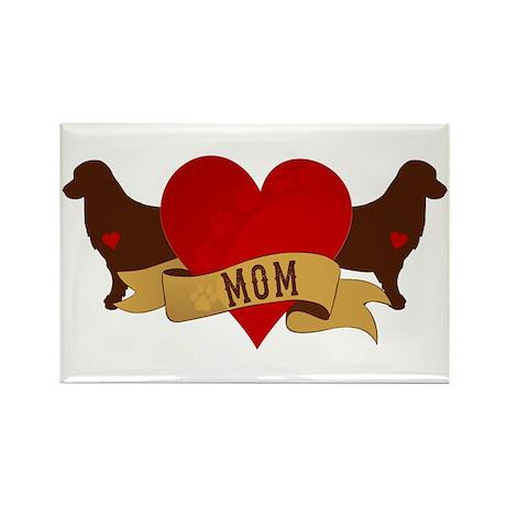 Golden Mom Rectangle Magnet