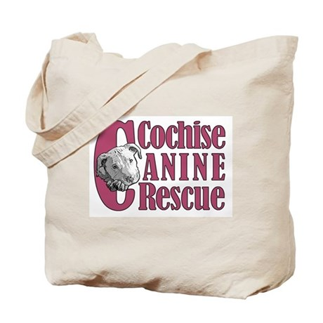 Cochise Canine Rescue Logo Tote Bag