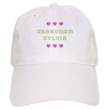 Grandmom Sylvia Baseball Baseball Cap