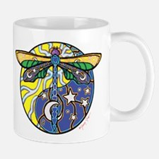 Cosmic Dragonfly by Peacemonger Mug