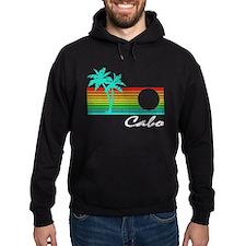 Cabo Vintage Distressed Design Hoodie